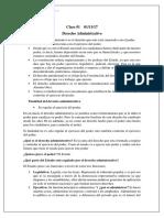 Apuntes - Derecho Administrativo I