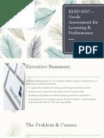 lordk edid 6507- needs assessment presentation