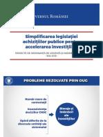 Noua ordonanţă privind regimul achiziţiilor publice