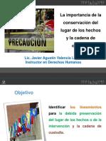 Importancia de la conservación del lugar de los hechos.pptx