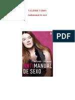 Antimanual de sexo - VALÉRIE TASSO