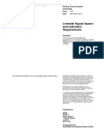 Lineside Signal Aspect and Indication Requirements