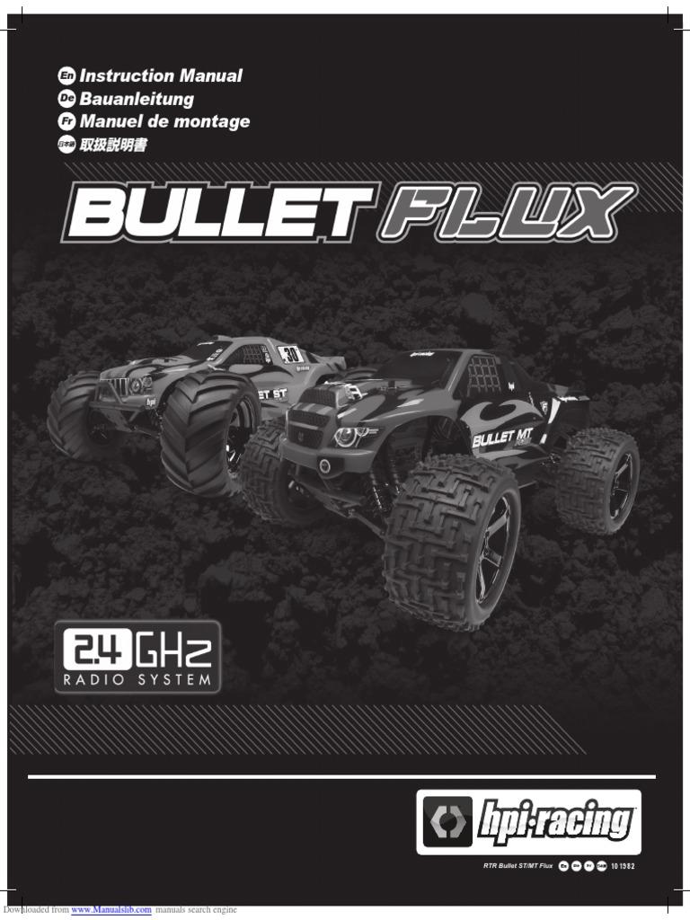 HPI Antriebswelle 6 x 83mm Mitte-hinten Bullet MT ST 3.0 Flux 101235 2St