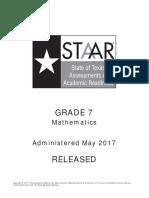 Staar g7 2017 Test Math f (1)