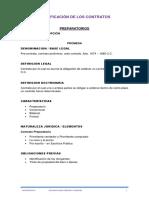 Clasificación de Los Contratos-holman