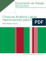 DT3 2015 Esteban China en America Latina Repercusiones Para Espana