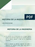 Historia de La Ing.