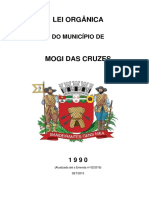 Concurso Mogi LeiOrganicaMunicipal Mogi Das Cruzes