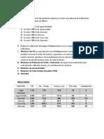 Procedimiento,Resultados y Conclusiones