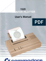 1520 Printer Plotter Users Manual (Style B)