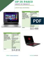 Laptop Para Ingenieria