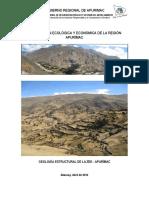 Estudio Geologia Estructutal de La Region Apurimac ZEE