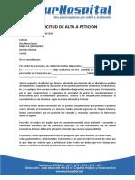 Alta Peticion
