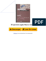 8481318531 El Ejercicio Segn Marco Aurelio by Maite Larrauri