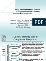 ZHANG Guogang_Oriental Thinking and Management Wisdom
