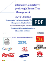 YU Chunling_Win a Sustainable Competitive Advantage Through Brand Tree Management
