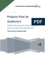 Proyecto Final Auditoria II