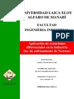 Ecuaciones en La Industria