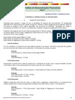 Ciclos Econômico, Operacional e Financeiro