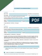 Modele de Contrat de Collaboration Liberale Pour Une Duree Donnee 21-04-2016