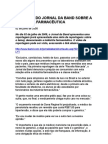 Denúncia do Jornal da Band sobre a indústria farmacêutica - Receitas Marcadas 1