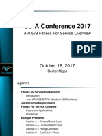 API 579 Fitness for Service Overview