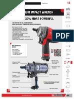 Titanium Pneumatic Impact Wrench