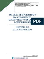 MANUAL OPERACION Y MANTENIMIENTO COLECTORES