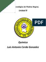 Unidad 3 Quimica ITPN