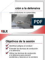 Defensive Driving for Noncommercial Motorists Spanish