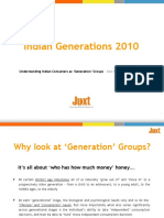 Snapshot - Juxt Indian Generations 2010 Study