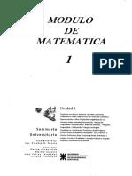 Módulo de Matemáticas