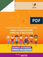 Adaptaciones Curriculares GUIA TRABAJO