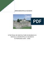 Strategia de Dezvoltare Economica Si Sociala