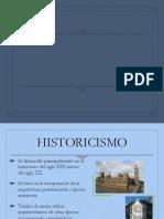 Historicismo en Inglaterra