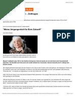 """Holocaustüberlebende Margot Friedländer - """"Meine Vergangenheit für Eure Zukunft"""""""