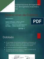 Operaciones de Doblado