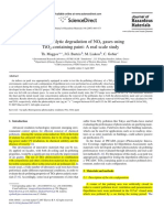 2007 Photocatalytic Degradation of NOx Gases Using
