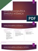 Aula 6 - Espectroanalitica Emissão Atômica