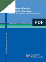 Afrodescendientes y Derechos Humanos Gobierno