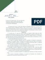 """Ordinul MECC nr. 822 din 30 mai 2018cu privire la acordarea notei """"10"""" din oficiu în cadrul examenului de Bacalaureat"""