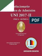 SOLUCIONARIO DE FÍSICA QUÍMICA 2017-II