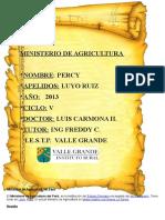 Ministerio de Agricultura Del Perú