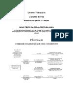 Dir. Tributario_Atualização Para 21a Edicao_Claudio Borba