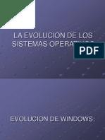 La Evolucion de Los Sistemas Operativos