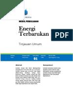 Modul 01-Energi Terbarukan