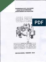 Guía Para Historias Clínicas y Ginecológicas