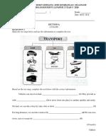 English Year 5 Paper 2