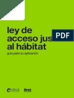 Manual Ley Habitat Provincia Buenos Aires