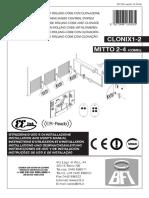 Manual Bft Clonix 2e